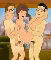 anus astrohamus breasts brothers double_penetration dp female group_sex hank_hill hetero junichiro_hill king_of_the_hill male male_pubic_hair official_style peggy_hill penis pubic_hair sex siblings testicles threesome vagina // 880x1032 // 135.0KB