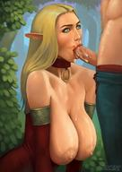 areolae bemmaa big_breasts blonde_hair blowjobs breasts busty_blonde cum cum_in_mouth cum_inside cum_on_penis elf erection fellatio female large_breasts long_hair male nipples oral penis straight sucking_cock sucks_dick // 880x1244 // 130.3KB